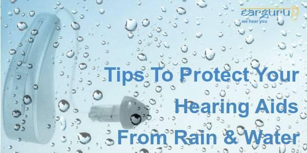 बारिश और पानी से कान की मशीन को बचाने के टिप्स blog feature image
