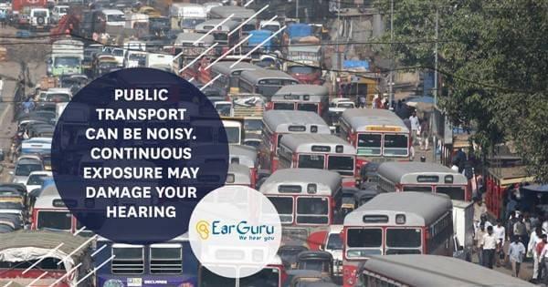 यातायात के शोर के कारण ध्वनि प्रदूषण जो उच्च आवृत्ति बहरेपन का एक कारण है blog image