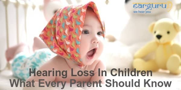 hearing loss in children blog feature image