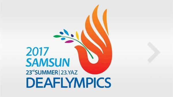 23rd Deaflympics Turkey logo