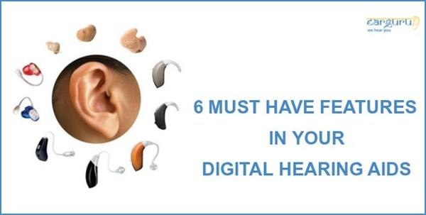 6 Must Have Hearing Aid Features blog feature image