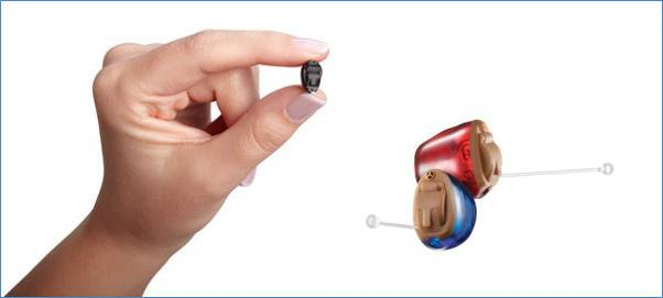 A Small Digital Invisible Hearing Aid