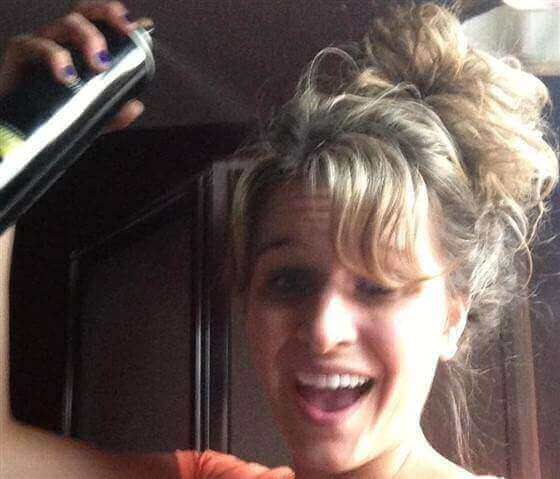 Avoid Hairspray while using Hearing Aids blog image