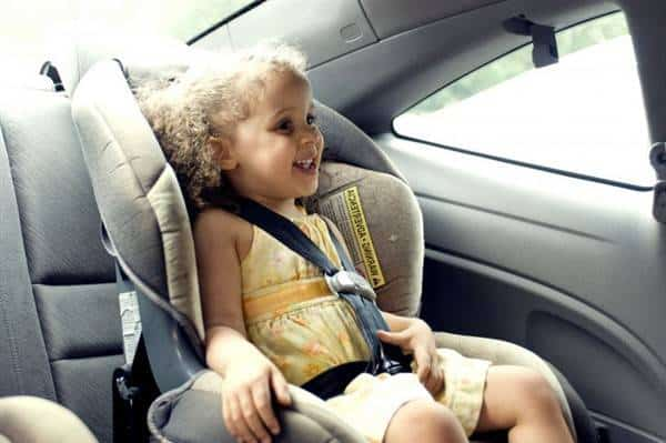 Child travelling in a Car blog image