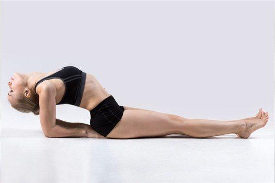 Matsyasana or Simple Fish Yoga Posture blog image