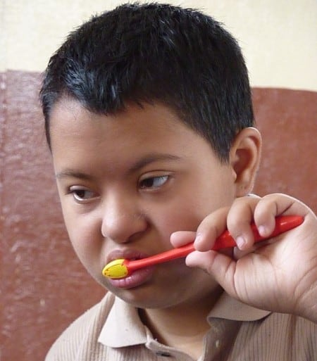 Hygiene for children with Down syndrome blog image
