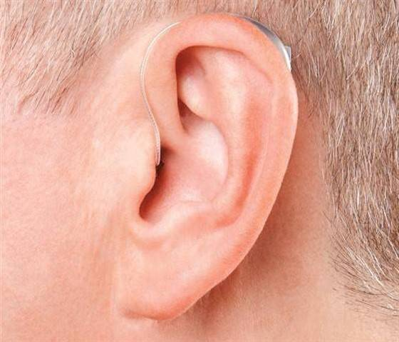 RIC or Receiver in the Canal Hearing Aid user