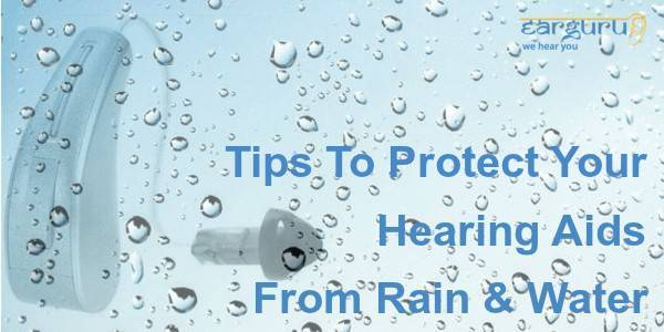 Tips to Protect your Hearing Aids from Rain and Water blog feature image