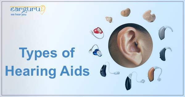 Types of Hearing Aids blog feature image