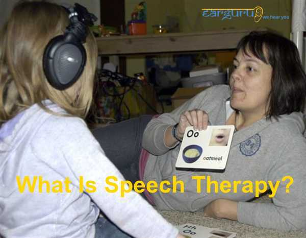 What is Speech Therapy blog feature image